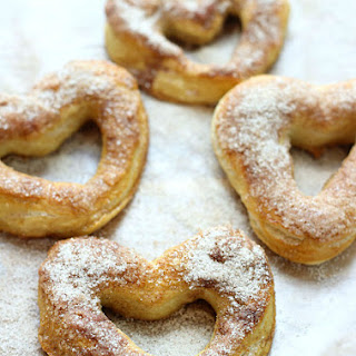 Easy Cinnamon and Sugar Soft Pretzels