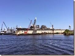 Norfolk day 1 battleship
