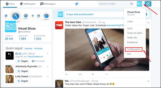 Crie widgets para o seu blog e mostre tudo o que rola no Twitter - Visual DicasCrie widgets para o seu blog e mostre tudo o que rola no Twitter - Visual Dicas