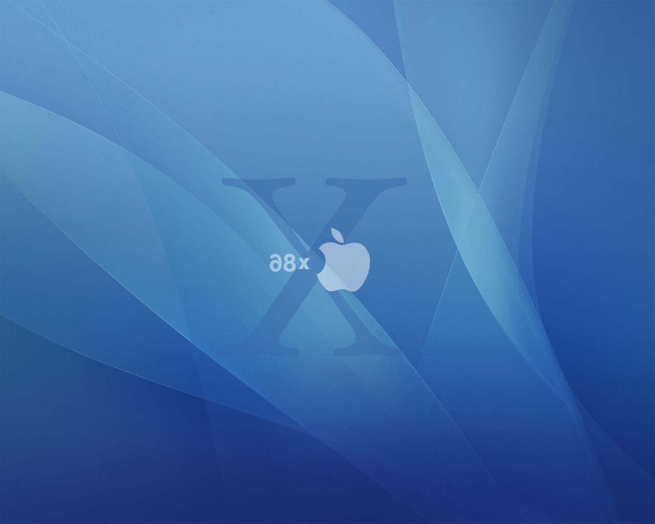 Mac OS X x86, Apple Aqua Blue