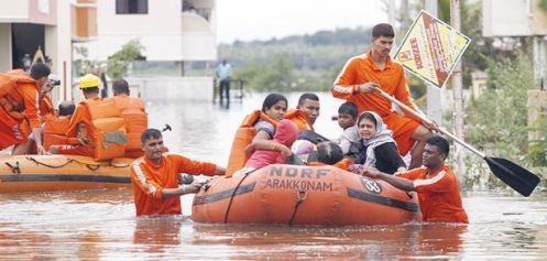 chennai rains ibps clerk exam status