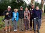 Left to right: David, Jane, Margaret, Robin, Rogier, and Philip. Best tour group ever!