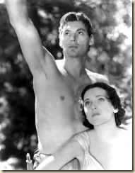 Johnny Weissmuller and Maureen OSullivan in Tarzan and His Mate 1934