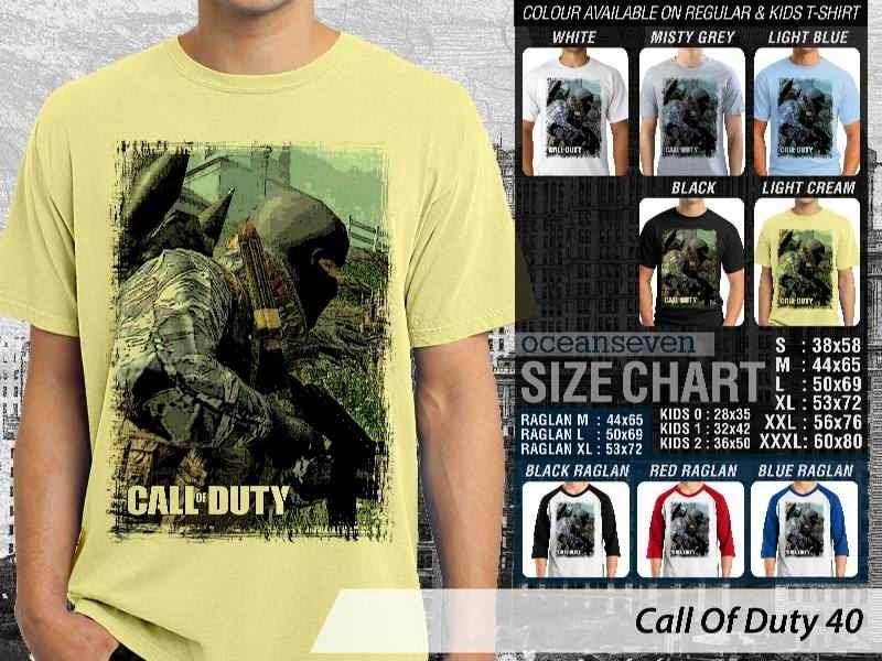 KAOS cod Call Of Duty 40 Game Series distro ocean seven