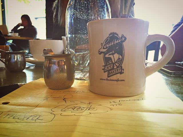 Louisa's Cafe, on Eastlake, Seattle.