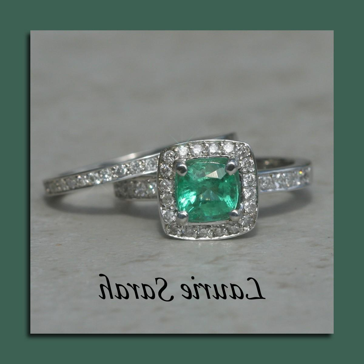 Emerald and Diamond Wedding