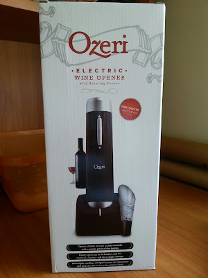 #Ozeri electric wine opener with aerating pourer