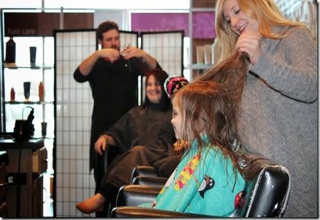 Zoey's First Hair Cut14