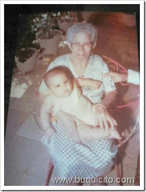 Luis Roberto Cunillera y bisabuela Luisa Amelia