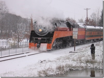 IMG_4793 Southern Pacific Daylight GS-4 #4449 at Oaks Park in Portland, Oregon on December 14, 2008
