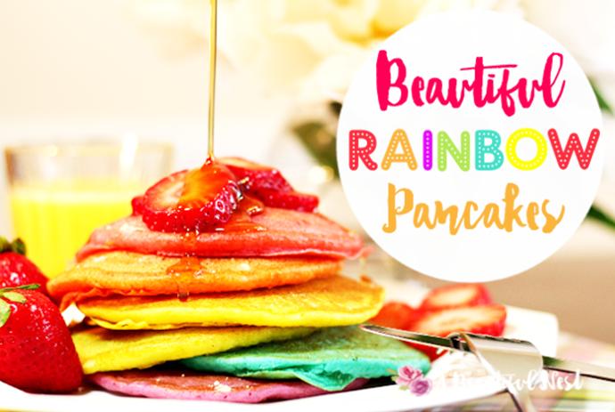 Beautiful-Rainbow-Paincake-with title