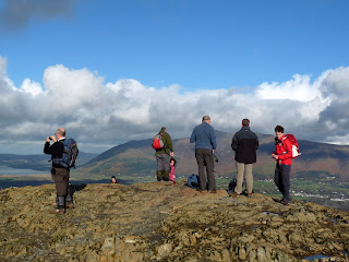 A busy summit on Catbells