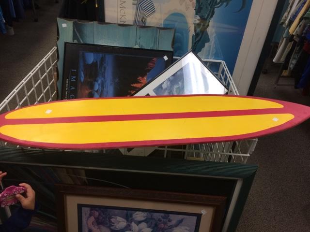 Love Bug Living: Surfboard Wall Art
