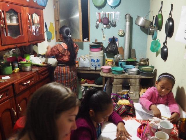 Homestay Mayan family in San Jorge, Guatemala