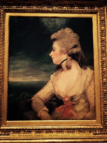 The Wallace Collection, Sir Joshua Reynolds exhibition 2015 Mrs Mary Robinson