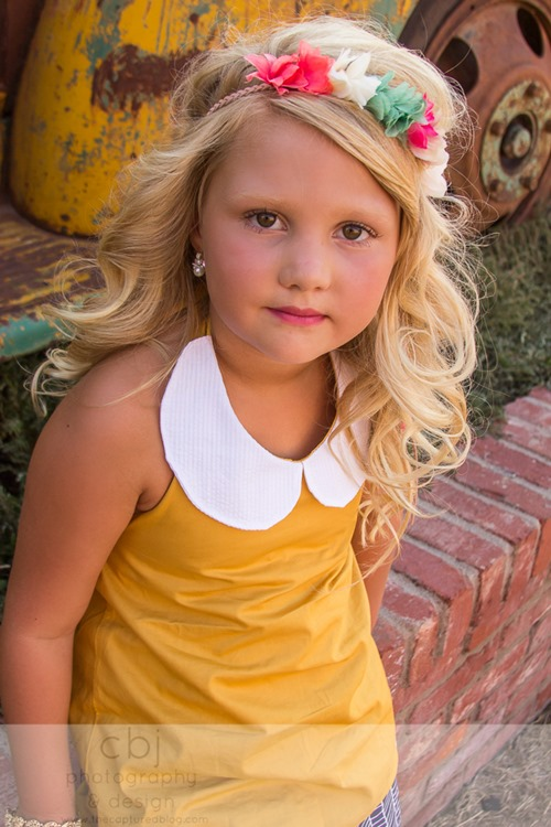 Daydream Believers Designs handcrafted, retro inspired, clothing for girls. Photo by Captured by Jes. LOVE the styling!