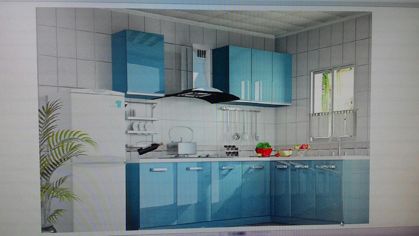 cherish every cherry: My kitchen cabinet- 3D design