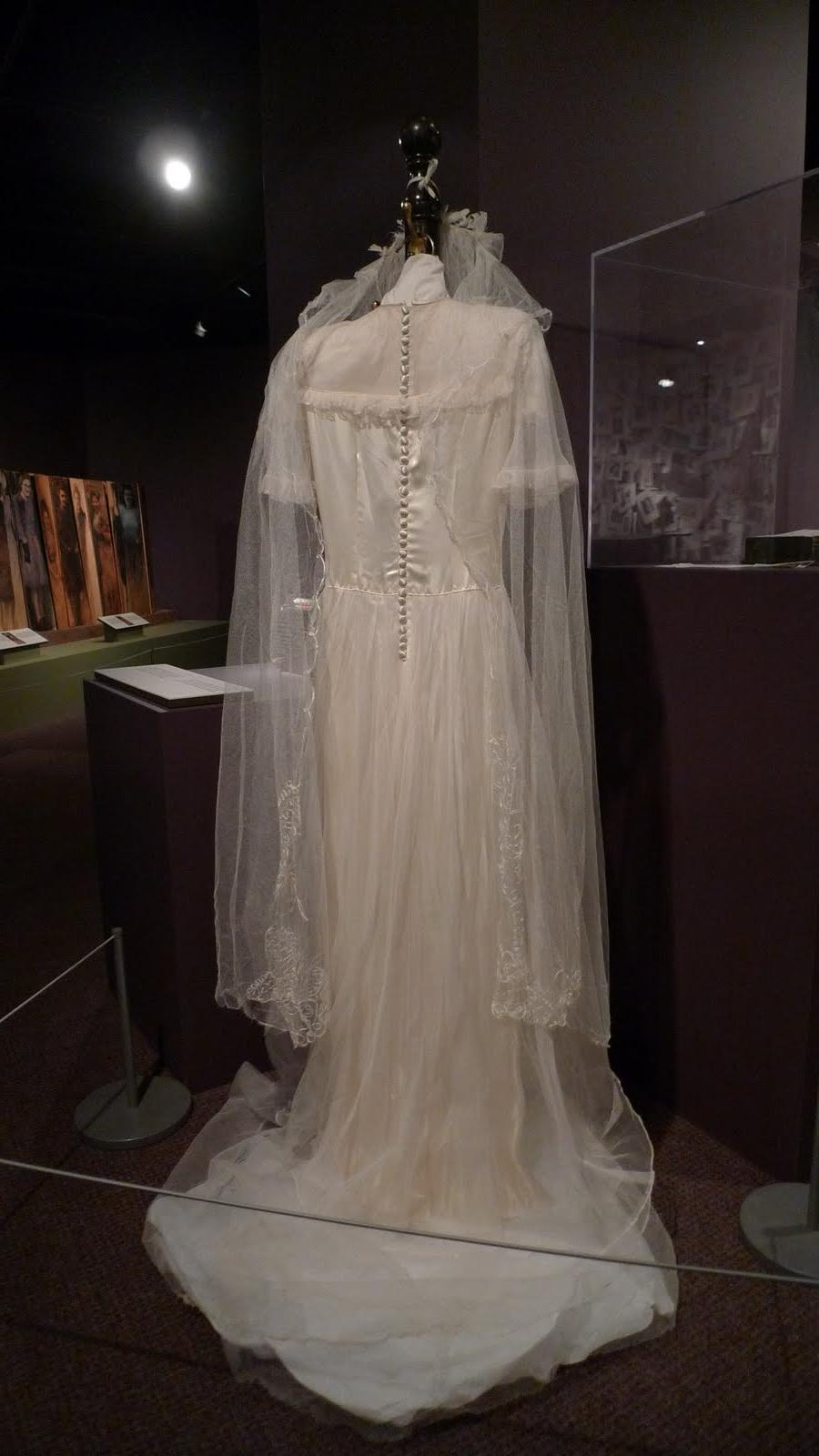 This the wedding dress of a