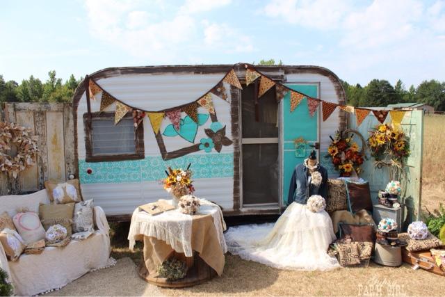 Mobile boutique shop camper