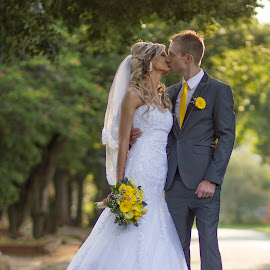 by Gawie van der Walt - Wedding Bride & Groom