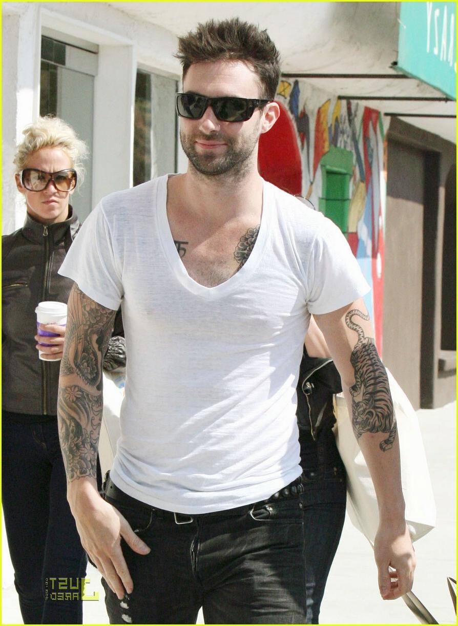 Adam Levine   2012 Hair Styles