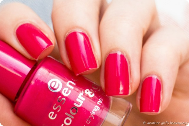 LFB Magenta Fuchsia essence i want that swatch hot pink-3