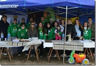 El evento fue organizado por la Comisión de la Fiesta Nacional del Sol y la Familia de San Bernardo
