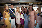 Princess Paxton Webster and her Court, along with a Citadel Cadet
