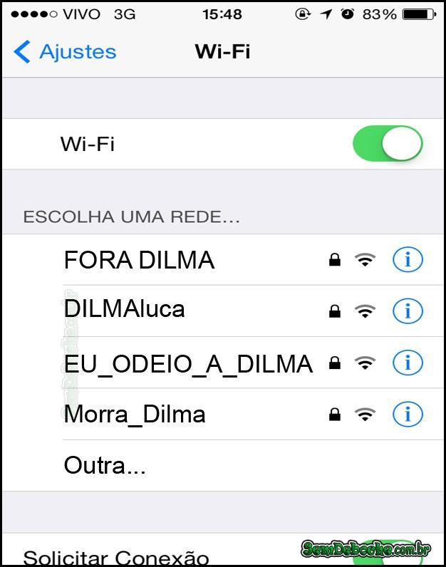 PROCURANDO UMA REDE WIFI
