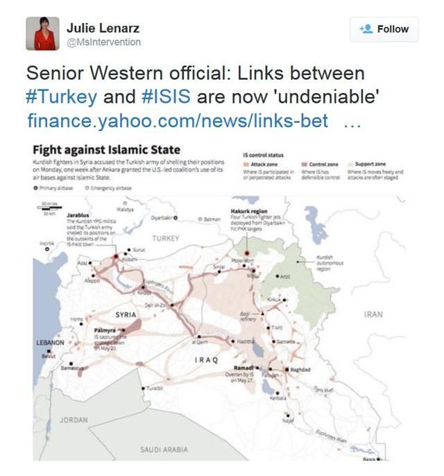 Turkey heart ISIS