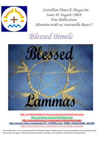 Cover of Correllian Times Emagazine's Book Issue 48 AUGUST 2010 Blessed Oimelc
