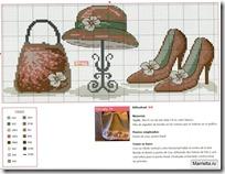 bolsos, sombreros, zapatos punto de cruz (3)