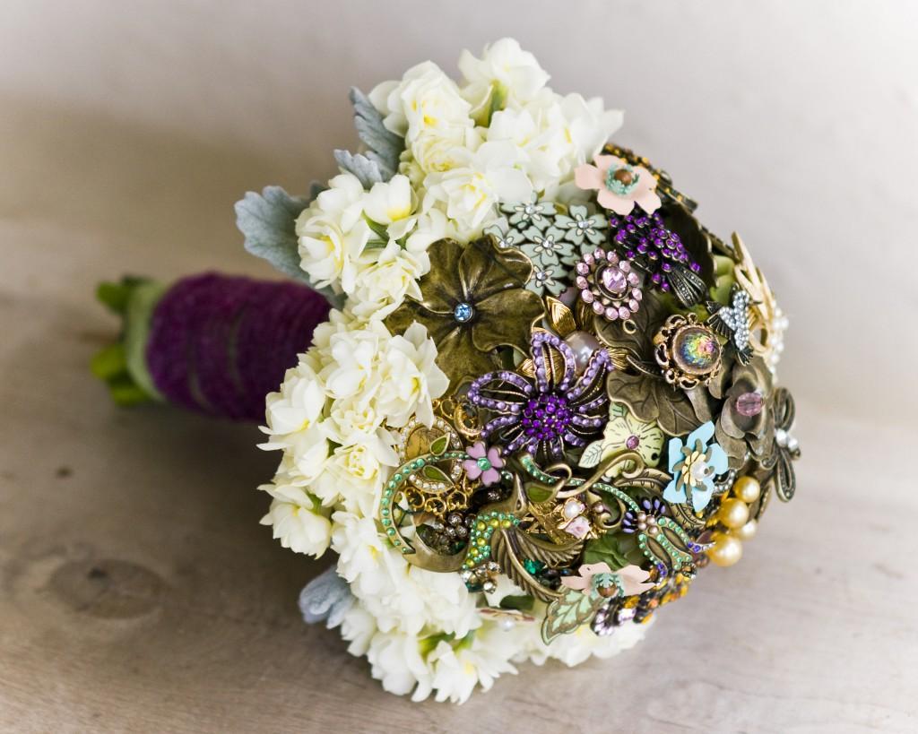Brooch Bouquet by Flourish