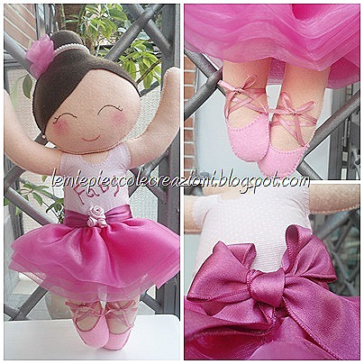 bambolina feltro ballerina