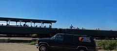Engine 25, McCloud Railroad, pulling sightseers