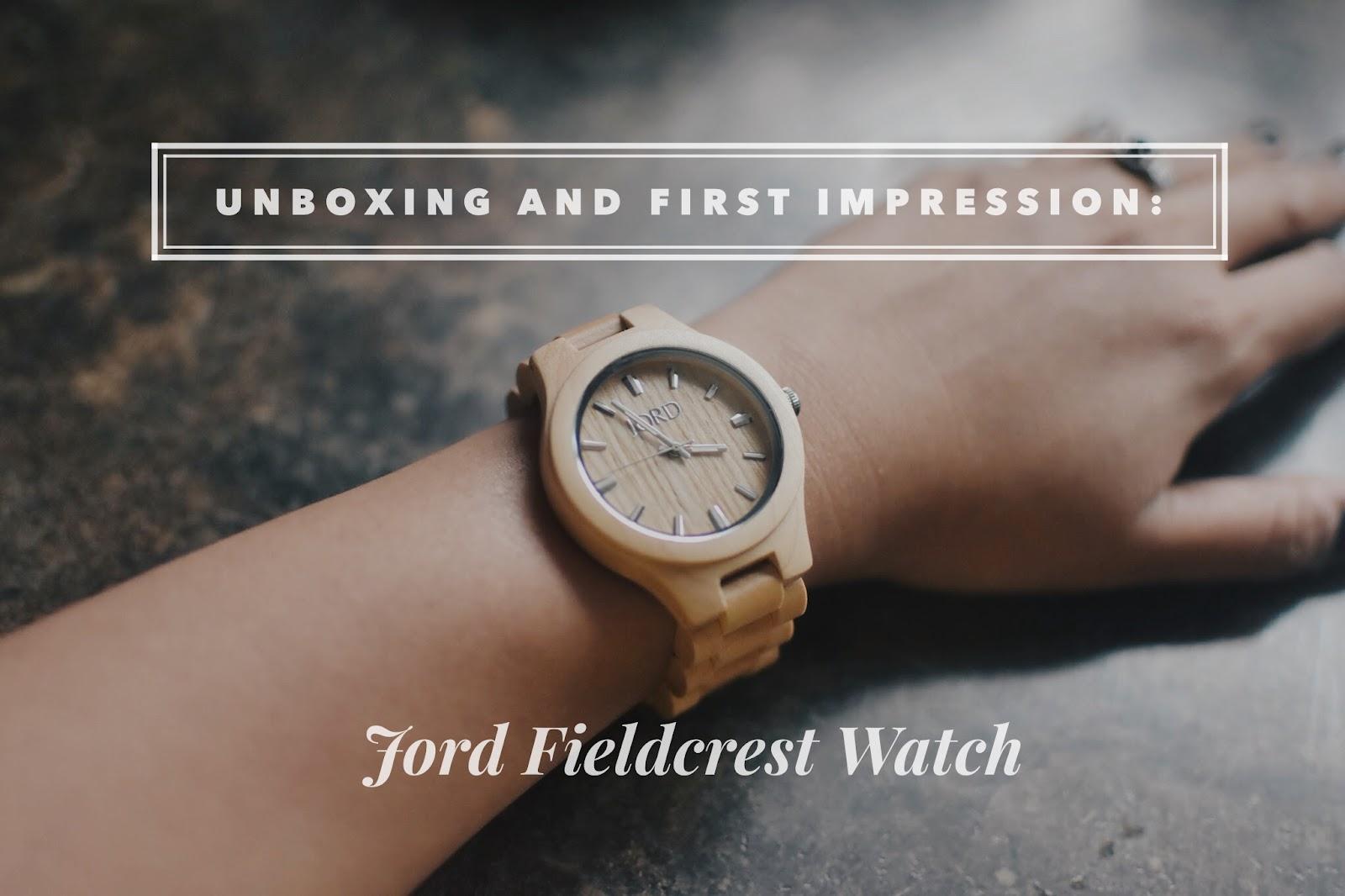 jord watch, jord wood watches, fieldcrest watch