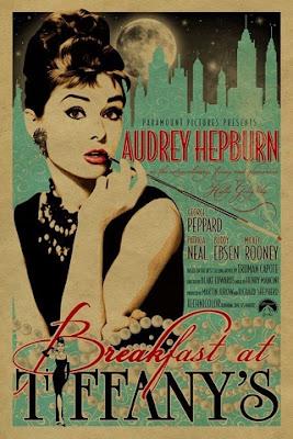 Tiffanys blue Audrey Hepburn