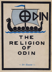 Cover of Irv Slauson's Book The Religion Of Odin