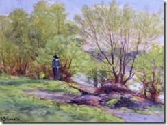 richard-buckener-gruelle-un-hombre-con-un-baston-cerca-de-la-costa-pintores-y-pinturas-juan-carlos-boveri