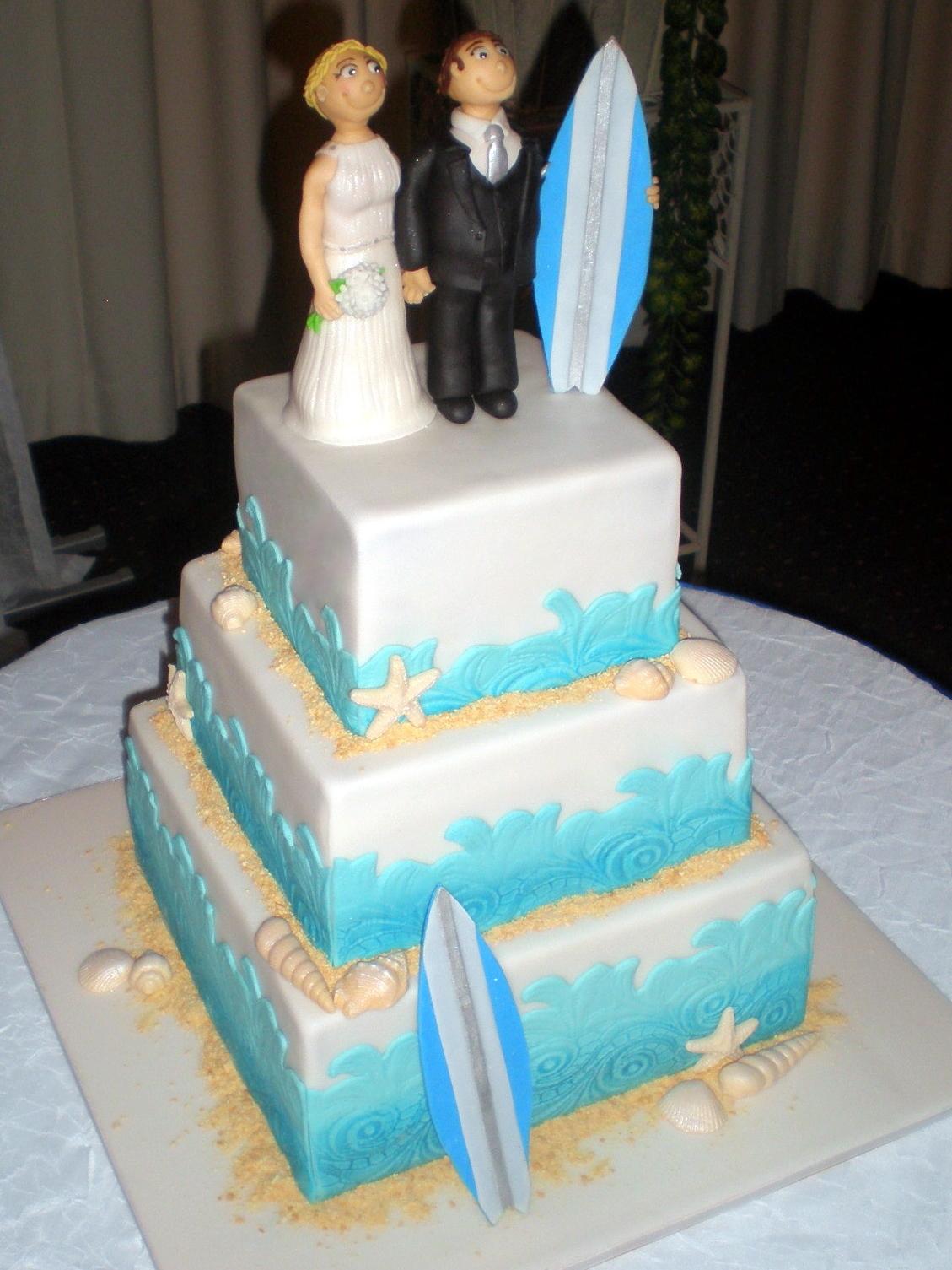 beach wedding cakes beach wedding cakes. beach themed wedding cakes