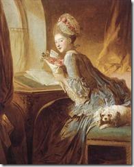 """Jean-Honoré Fragonard, """"Le billet doux ou La Lettre d'amour"""" The Metropolitan Museum"""