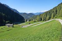 Westrampe des Passo di Cereda (1369m).