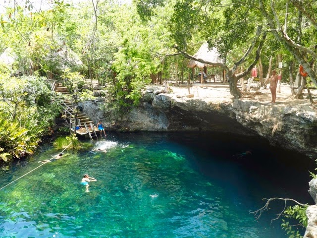 Cenote Eden, Tulum, Mexico