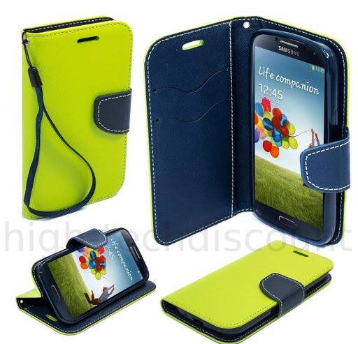 Housse-etui-coque-pochette-portefeuille-pour-Samsung-i9500-Galaxy-S4-film
