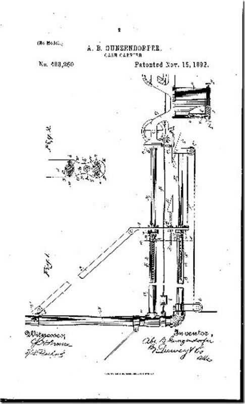 Cash Carrier Sketch