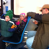 Riding the bus in downtown Chicago 01152012b