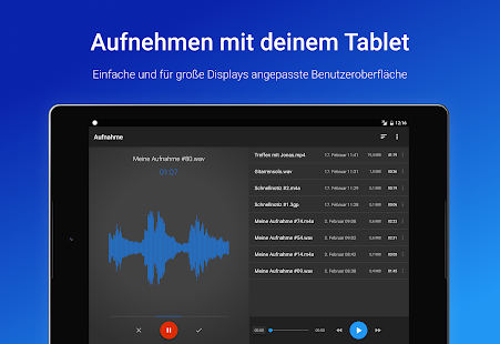 Stimmrekorder Plus Screenshot