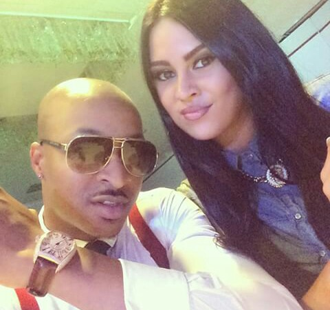 IK Ogbonna(Nigerian actor) and Sonia Morales (Colombian blogger