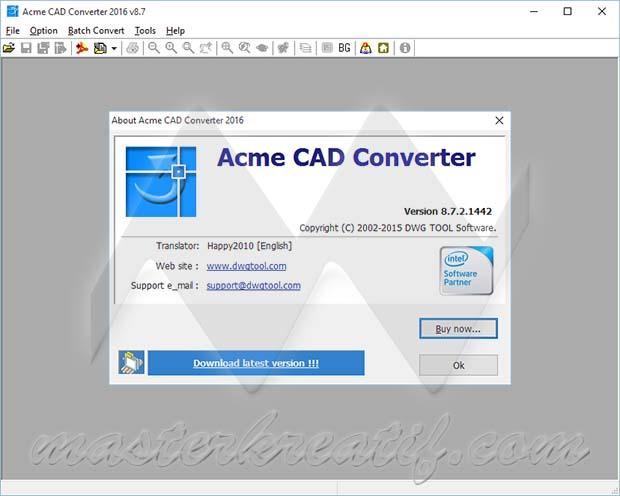 Acme CAD Converter 2016