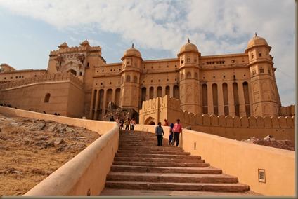 Amber Fort: where an elephant almost got me ...